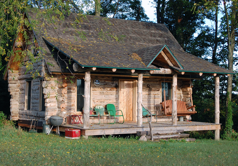Project log cabin for Log cabin project